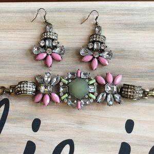 Charming Charlie bracelet/earrings